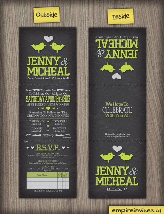 An awesome way to do any kind of invitation!: Art Wedding, Wedding Idea, Invitations Wedding, Daphs Invitations, Clever Invitations, Party Invitations, Wedding Invitations, Weddinginvitation Psily