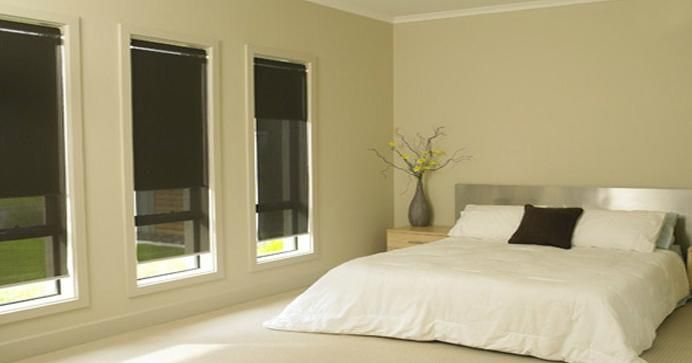 odourless blinds on all windows