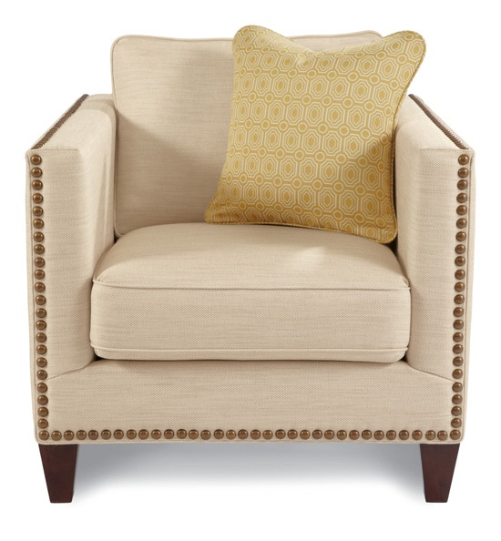 Kinsley Premier Stationary Chair By La Z Boy LOVE The Nail Heads.
