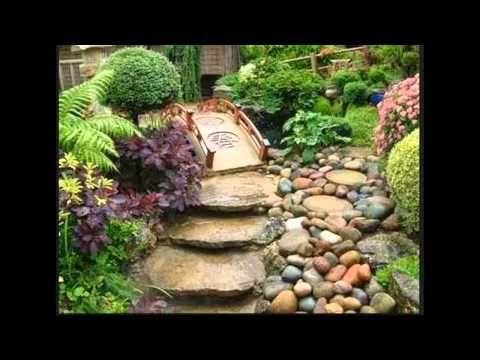 jardines rsticos estilo rstico paisajismo crear reciclaje piedras espacio consejos plantas