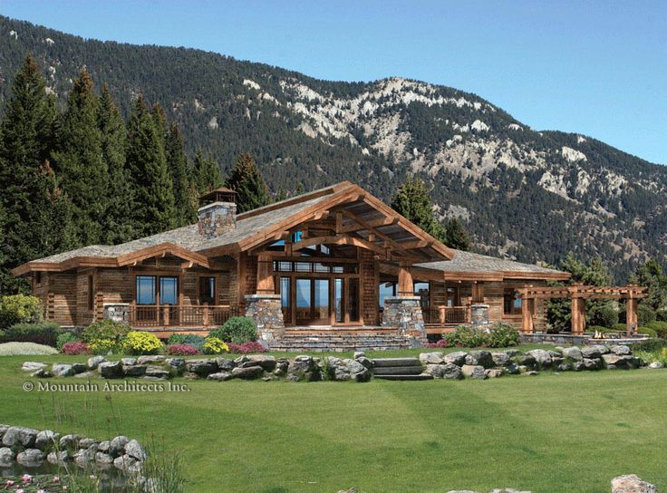 25 best ideas about mountain home plans on pinterest rustic home plans mountain homes and mountain cabins - Mountain Cabin Plans