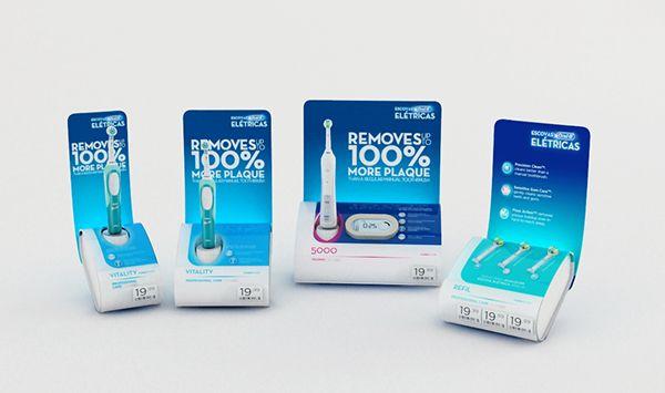 Displays Oral B on Behance