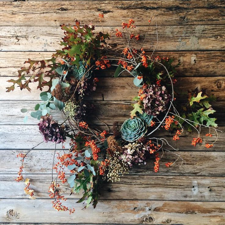 "395 Likes, 12 Comments - Little State Flower Company (@littlestateflowerco) on Instagram: ""We are SUPER excited for our very first annual Fall Wreath and Decor Sale!!!! We are collaborating…"""