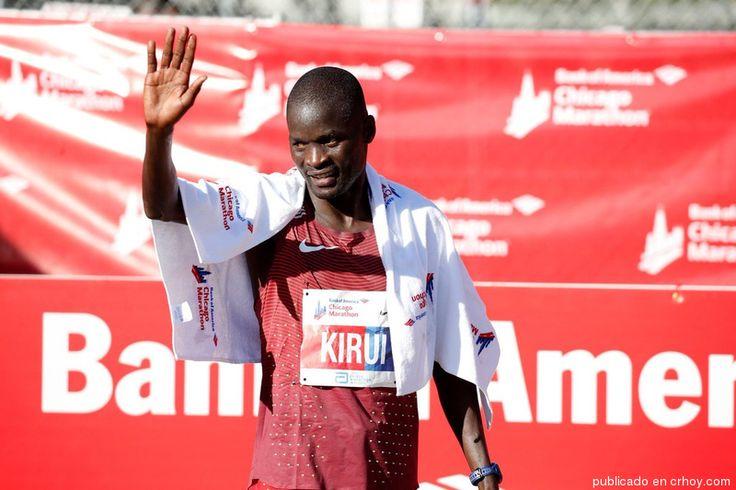 Keniano Abel Kirui ganó la Maratón de Chicago