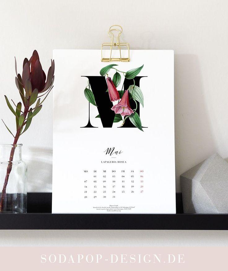 Kalender 2018 Printable