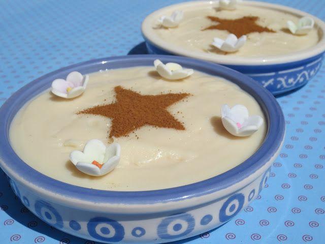 Natillas de leche merengada sin huevo Ana Sevilla