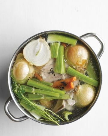Be sure to save the turkey bones from your Thanksgiving feast -- you can use them to make a pot of flavorful stock.