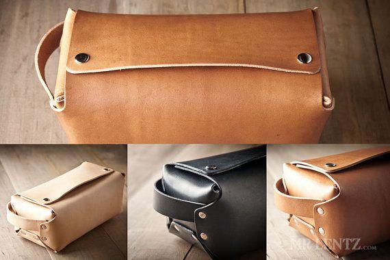Toiletry Bag Mens Toiletry Bag Dopp Kit Mens Dopp Kit by MrLentz