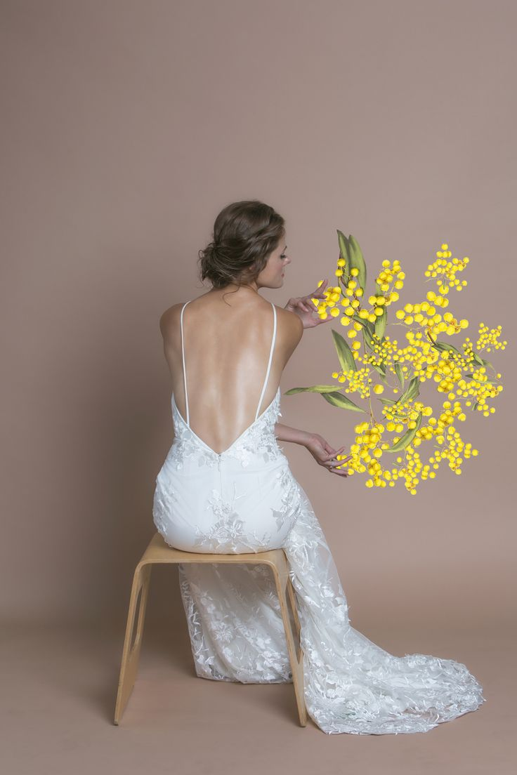 The Acacia Gown Trish Peng Bloom Collection