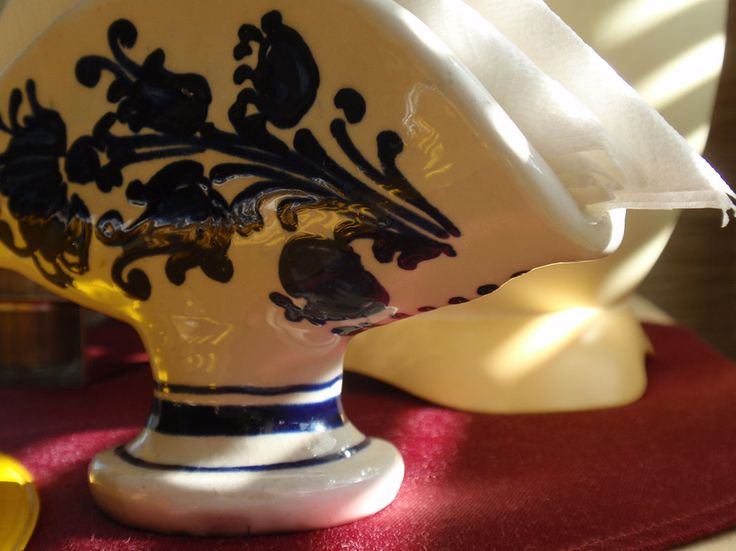 Szalvétatartó cserépdekoráció / #pottery for napkins