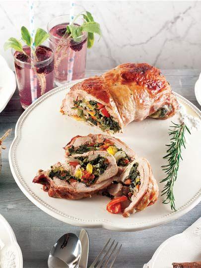 Fırında hindi sarma Tarifi - Türk Mutfağı Yemekleri - Yemek Tarifleri