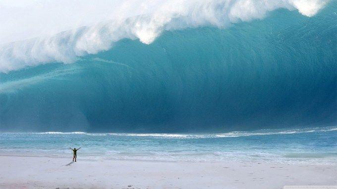 Bencana tsunami merupakan bencana alam yang berbahaya.