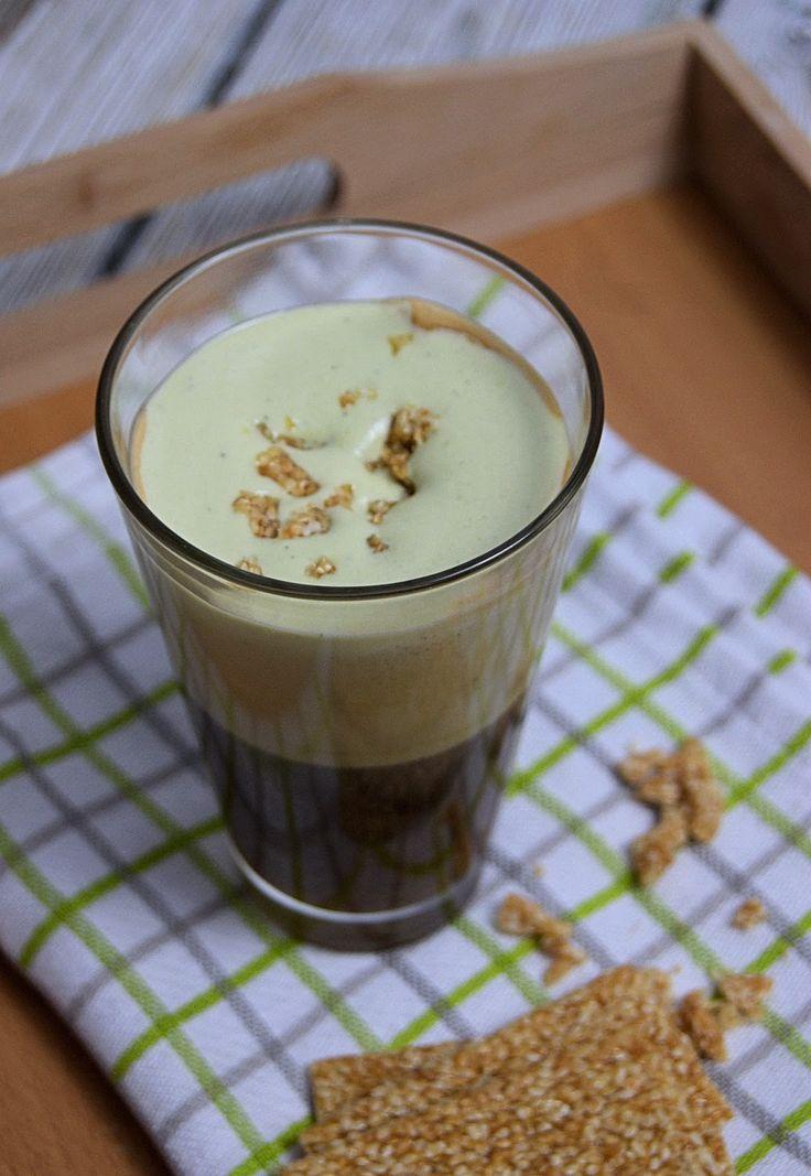 szczypta smaQ: Kawa z zieloną herbatą matcha