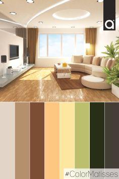 Naturalidad y estilo, dos características de los colores cálidos; usar una paleta de color que incluya estos tonos le dará más vida a tu hogar. ¿Te gusta este espacio?