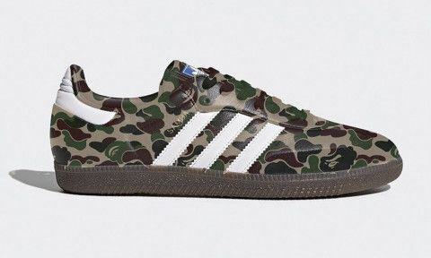 63db992784d5 The Next BAPE x adidas Sneaker Collaboration Is Rumored to be a Samba