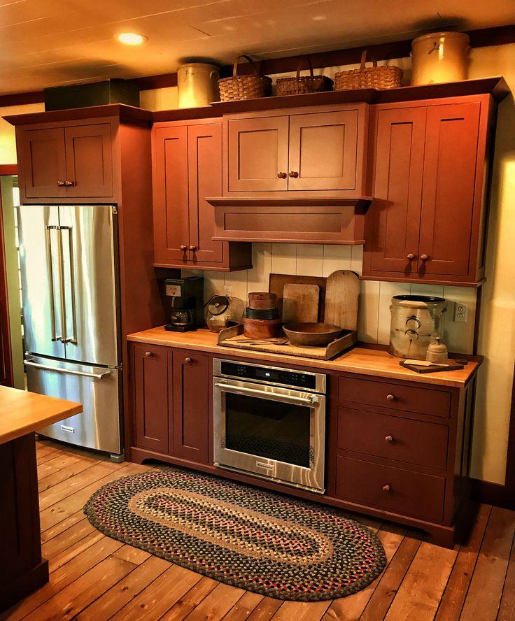 672 Best Primitive/Colonial Kitchens Images On Pinterest
