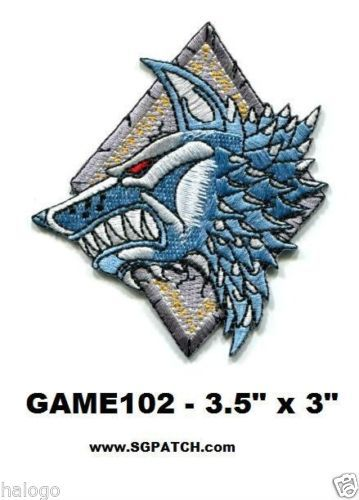 Warhammer 40K Space Wolves Patch GAME102 | eBay