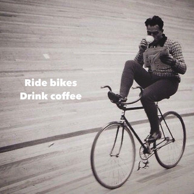 Bikes and coffee!