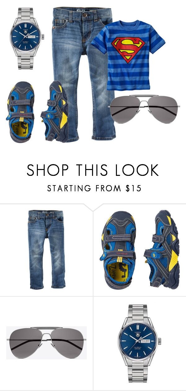 """""""My litle boy"""" by julissadegrijze on Polyvore featuring Stride Rite, Yves Saint Laurent and TAG Heuer"""