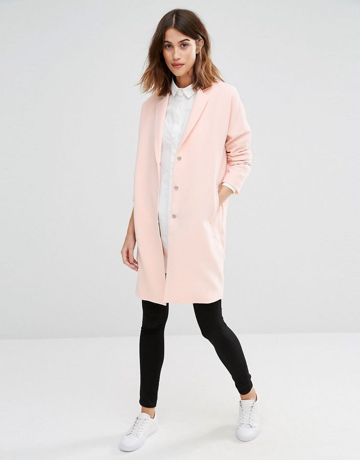 Image 4 of Vero Moda Slouchy Duster Coat