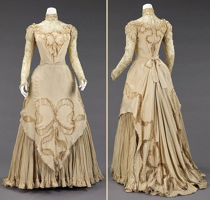 Dress style 1890 to 1899