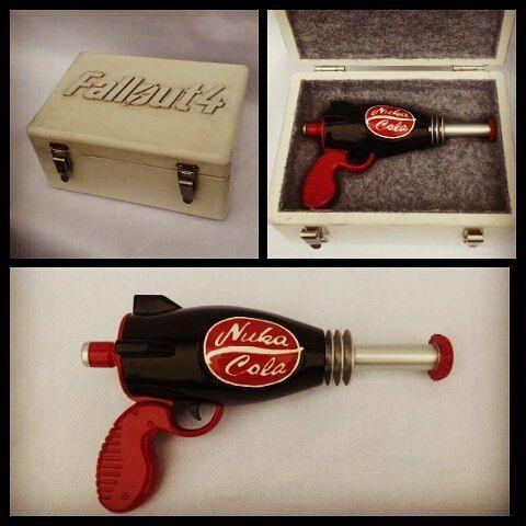 Replica Fallout4 nuka cola ray gun with case #replica #raygun #prop #fallout4 #nuka cola