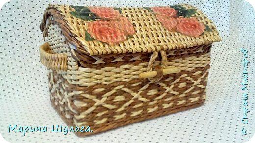 Поделка изделие Плетение Радуга-дуга Бумага газетная фото 8