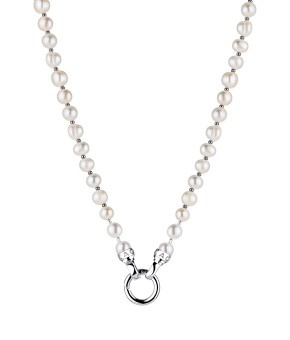 Cream Pearl petite (47cm necklace) - possible pearl necklace to match the bracelet for wedding, or for anytime! its gorgeous!