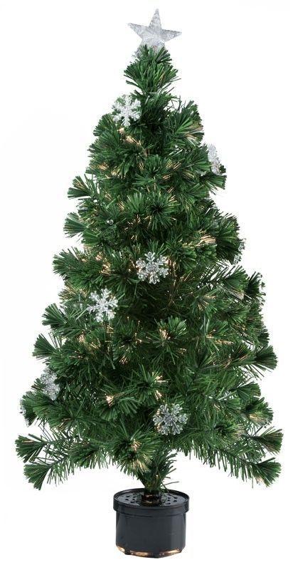 Kerstboom met fiberverlichting (120cm) #kerstboom #kerst