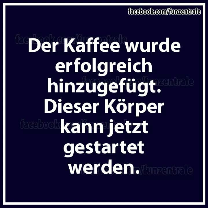 Kaffee Start