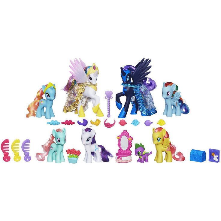 My Little Pony Friendship is Magic Midnight in Canterlot Pony Collection Doll #HasbroMyLittlePony