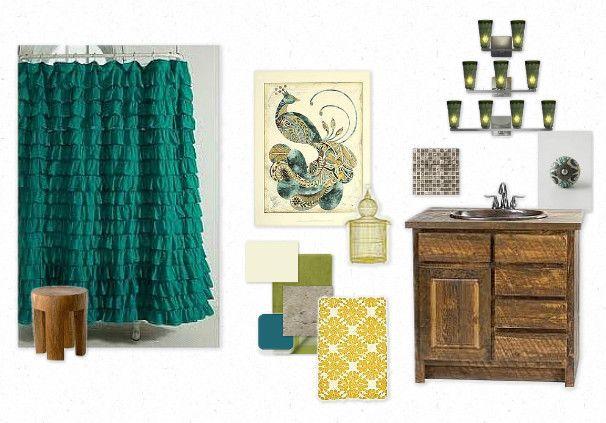Best 25+ Peacock bathroom ideas on Pinterest | Peacock ...