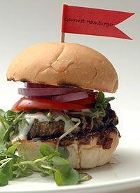 Gourmet Beef Burgers on the Braai