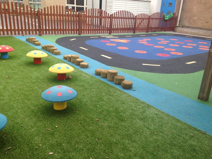 Nursery Wetpour Playground Specialists