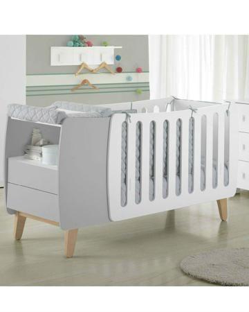 Micuna бело-серая Harmony Micuna  — 43800р. -------------------- Бело-серая кровать Harmony Micuna подойдет как для новорожденного крохи, так и для подростка. Есть удобная тумба с полкой и 2 ящиками. Сделана из натурального бука в сочетании с МДФ.