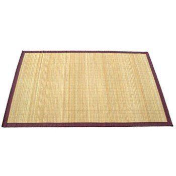 Tapis naturel Bambou naturel, l.70 x L.120 cm | Leroy Merlin