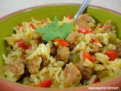 Eat Cake For Dinner: Sausage and Rice Casserole with an Interesting ...