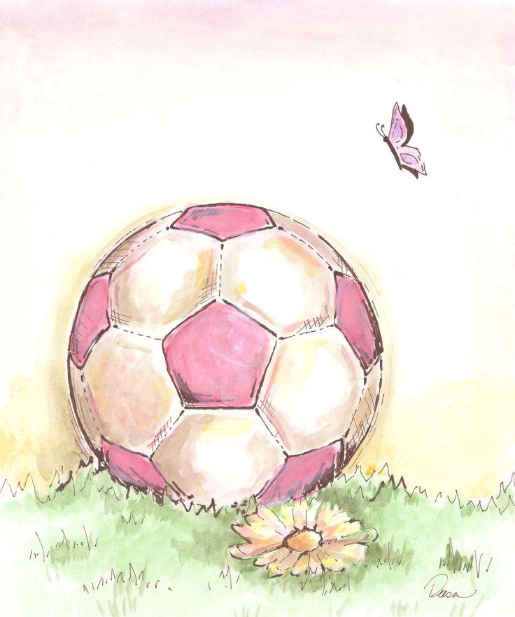 Resultado de imagen para dibujos tumblr de balones de futbol en una cancha