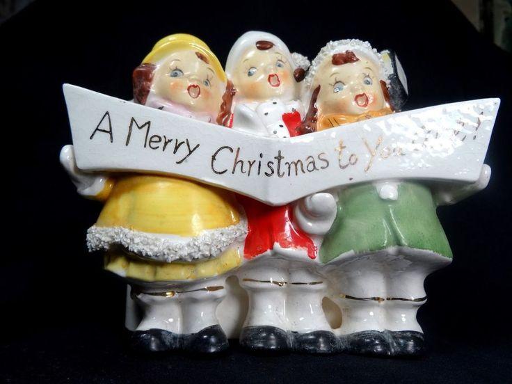 239 Best Vintage Christmas Figures Images On Pinterest