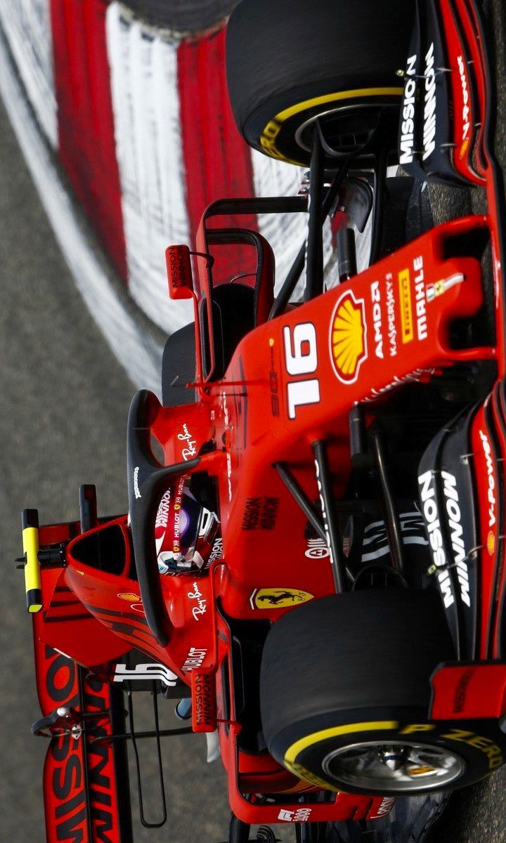 2019 4 12 Twitter Leclercnews Charles Leclerc During The