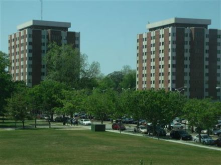 The Twin Towers Dorm At Norfolk State University. I Only Had $50 To My Name Part 70