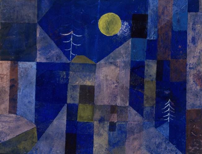 paul klee quotmondscheinquot 1919 out of the blue