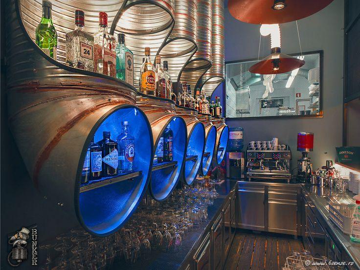 BUNKER a theme Restaurant-Bar set into the post-apocalyptic future , Slovenia https://www.steampunkartifacts.com