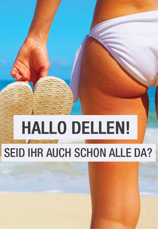Orangenhaut: Was tun bei Dellen am Po? Man nennt sie Orangenhaut, Hagelschäden oder auch Dermopanniculosis deformans – ja, Cellulite ist der Staatsfeind Nummer Eins. Was also ist zu tun? Ignorieren, behandeln lassen oder Sport treiben? Und vor allem: Waren Grübchen am Po nicht mal ein gefeiertes Schönheitsideal? #dellen #cellulite #orangenhaut #hagelschäden #fit #fitness #hammer #hammersport #sport #ausdauer #straff #gewebe #beine #po #sommer #bikini #grübchen #schönheitsideal #training…