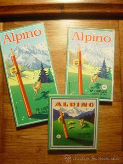 Colors de fusta Alpino.