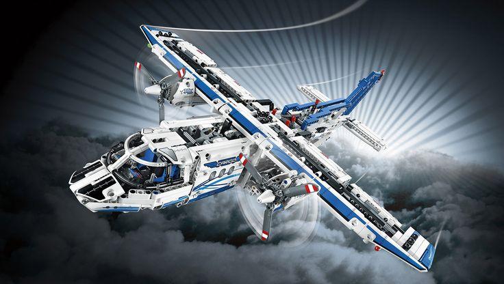 42025 Transport Hovercraft - Products - Home - Technic LEGO.com