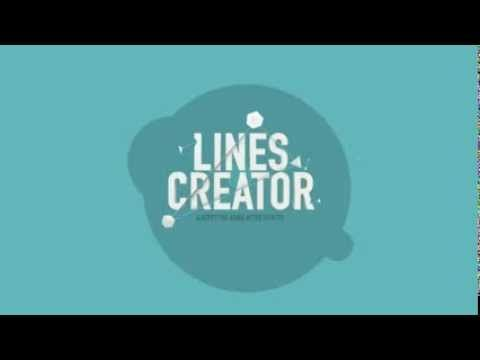 There's a new script out there called Lines Creator for Adobe AfterEffects! Watch the video and see what kinds of cool animations you can easily create with it. A must have when doing kinetic typography!