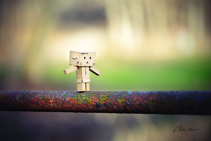 Danbo on the pipe