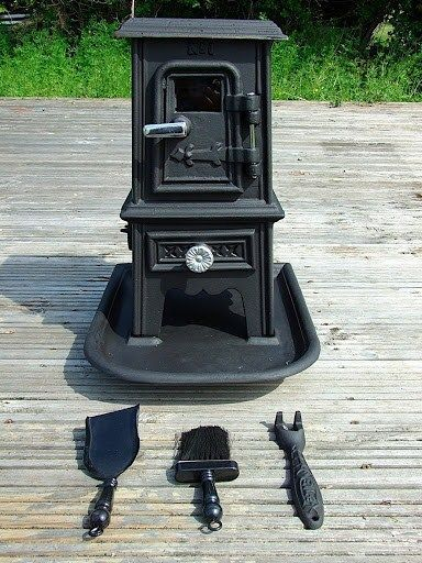 Pipsqueak Portable Wood Burning Stove Heater Bell Tent Stove Camping Boat Heater #Unbranded