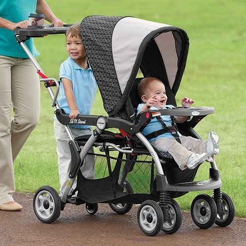 Elite Sit n Stand DX Baby Stroller by One Step Ahead, http